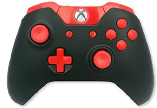 ModsRus Modded Controller Red Out Xbox One