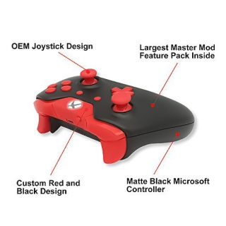 ModsRus Modded Controller Red Out Xbox One Info